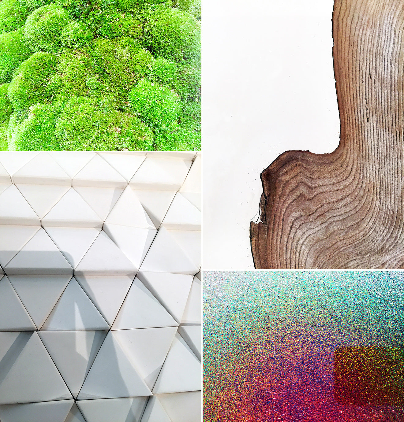 Textures and surfaces from the surface design show