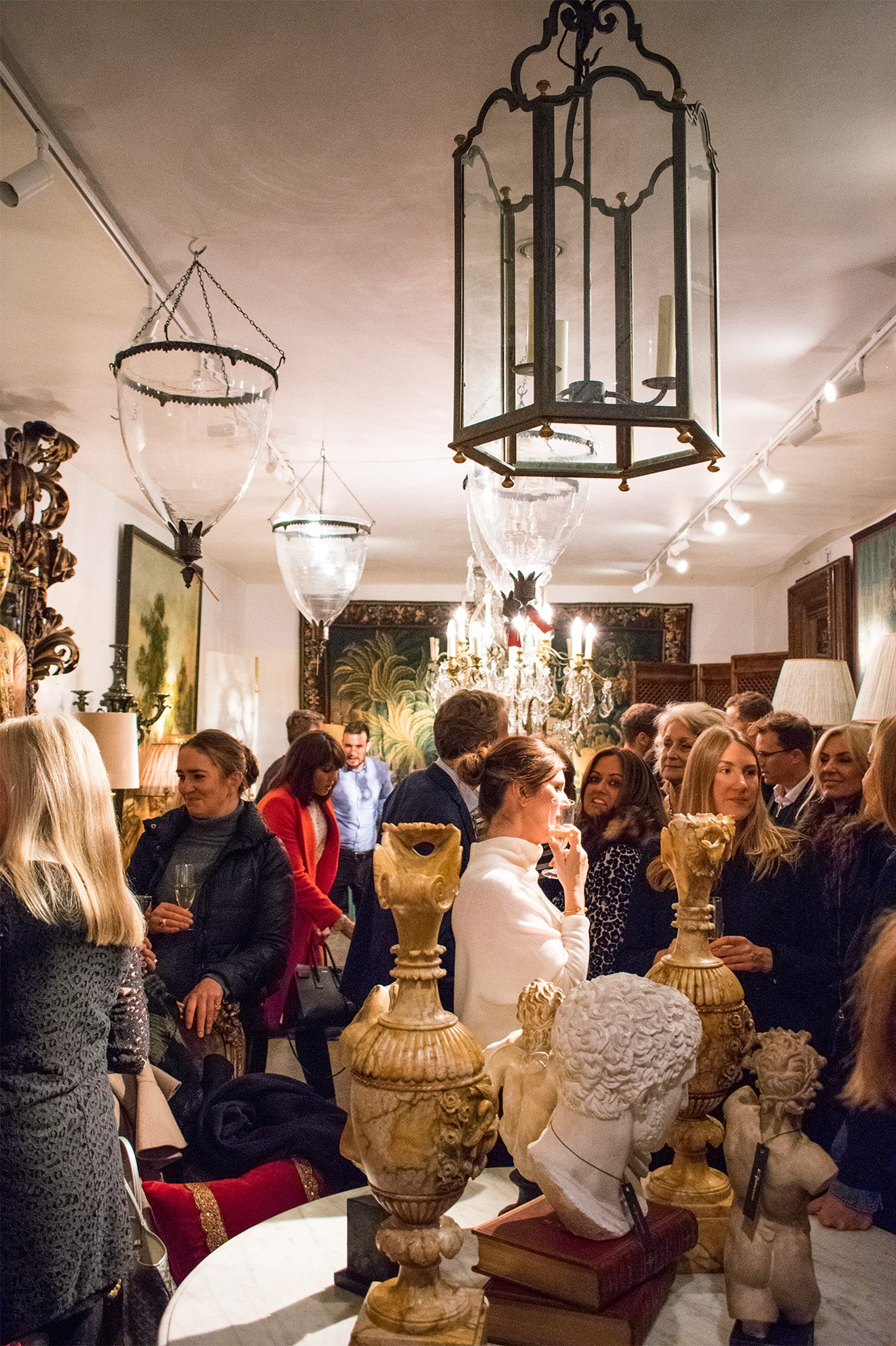 Interior Design Tours UK Launch Event at Guinevere Antiques