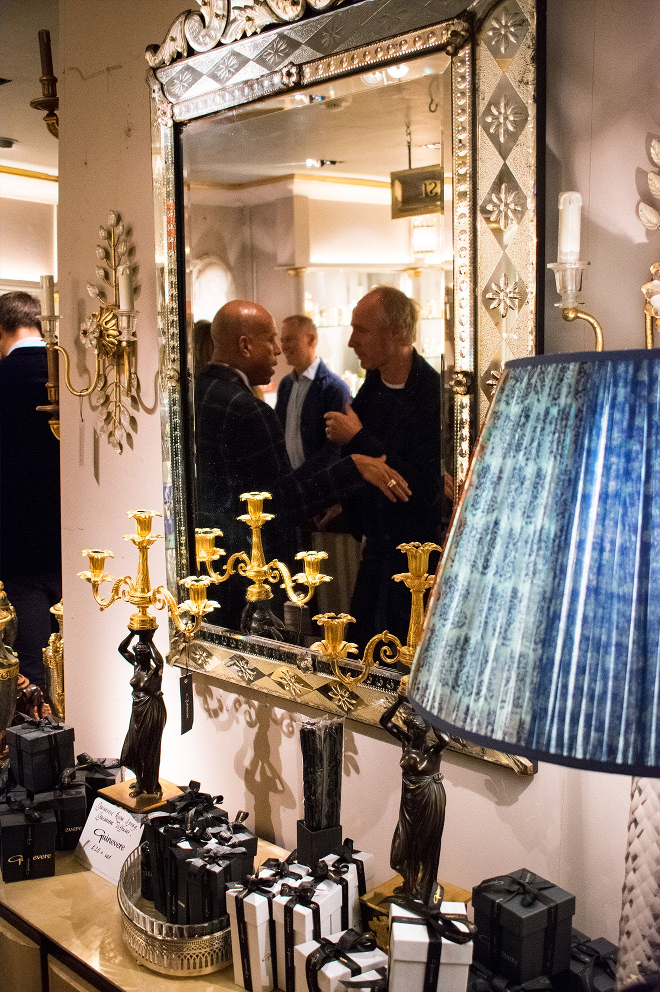 Interior Design Tours UK Launch at Guinevere Antiques King's Road