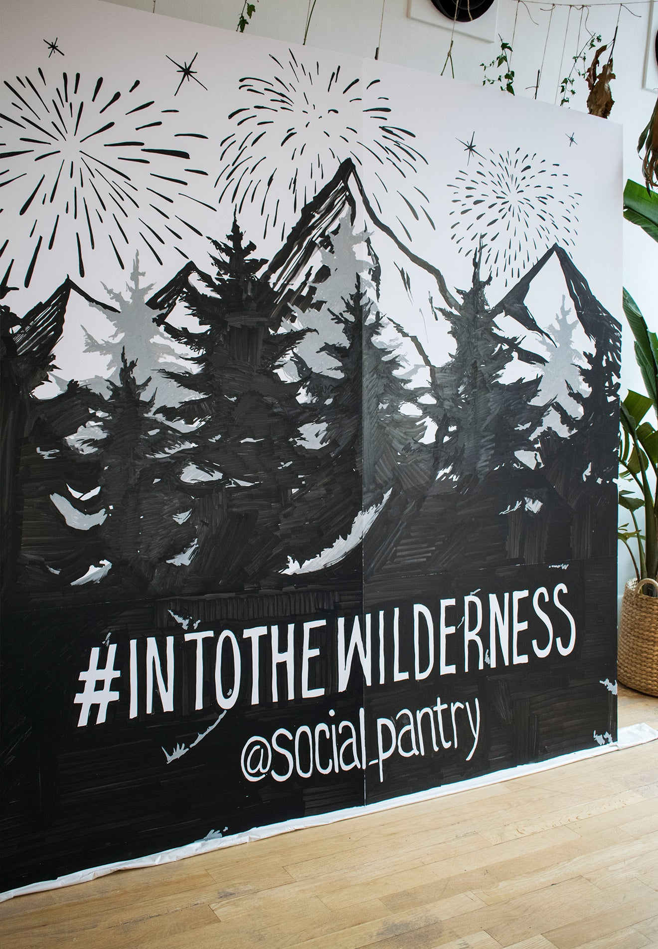 into the wilderness at social pantry Habitat