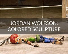Jordan Wolfson Coloured Sculpture