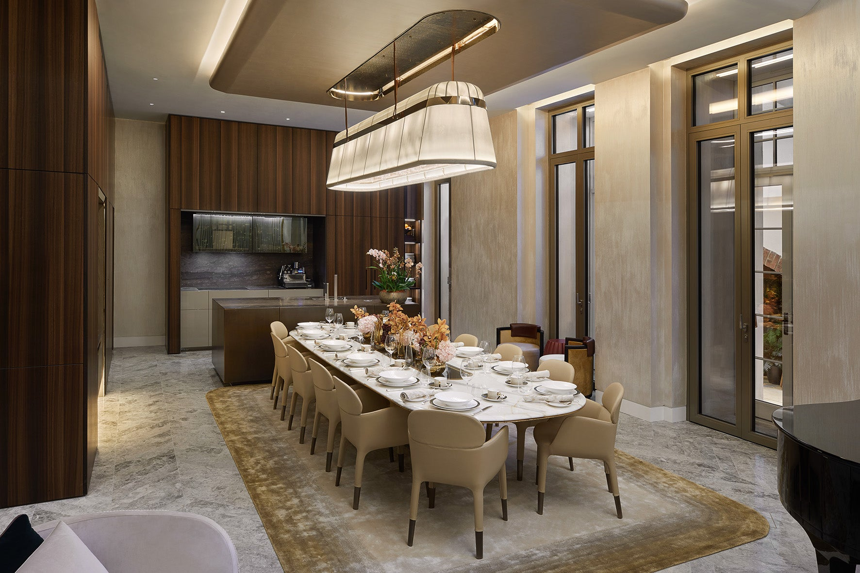 Mayfair Park Residences, Clivedale London, interiors designed by Jouin Manku