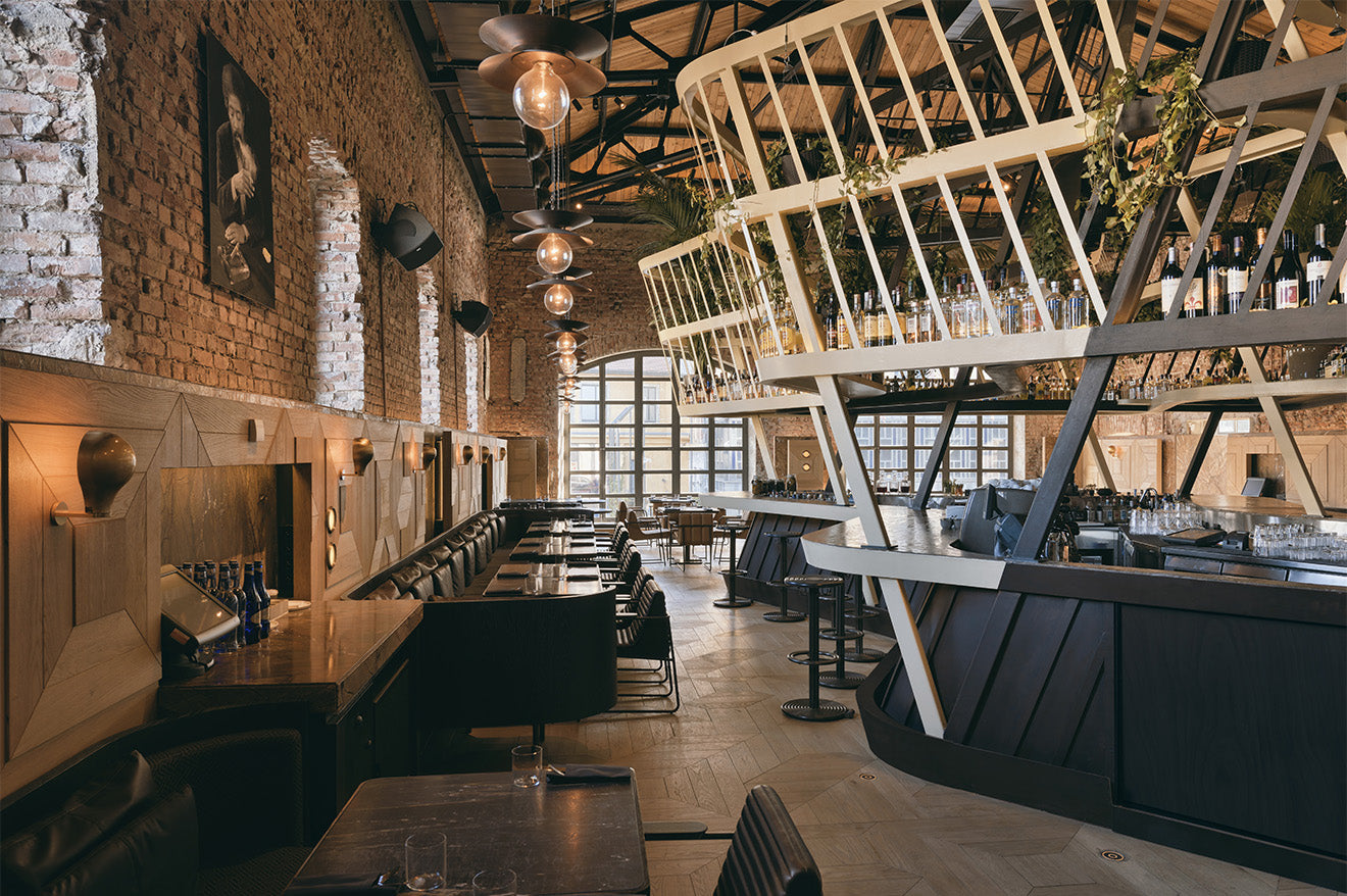 Kilimanjaro restaurant and luxury bar, Istanbul designed by Autoban