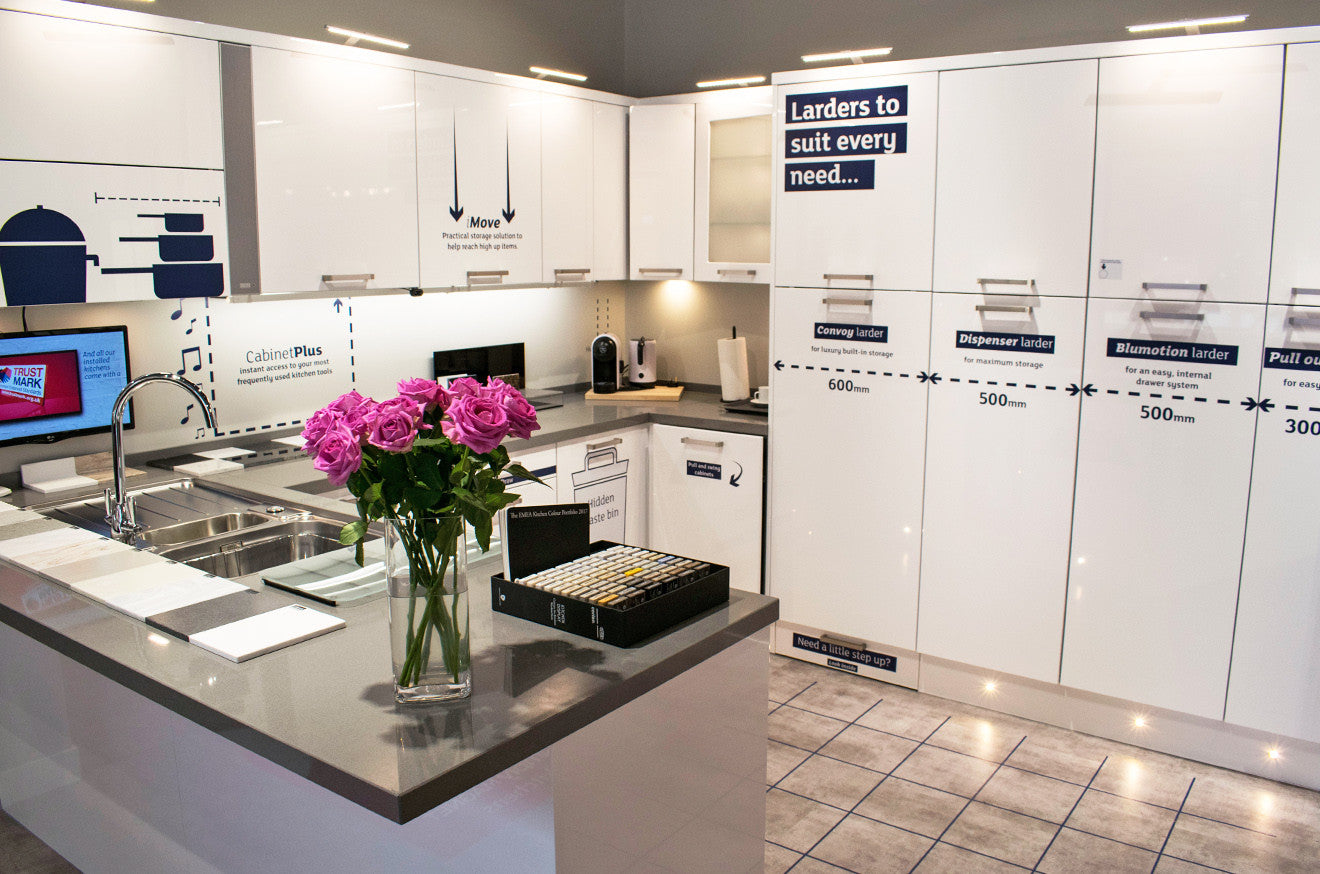 Magnet Kitchens Sutton Showroom Tour