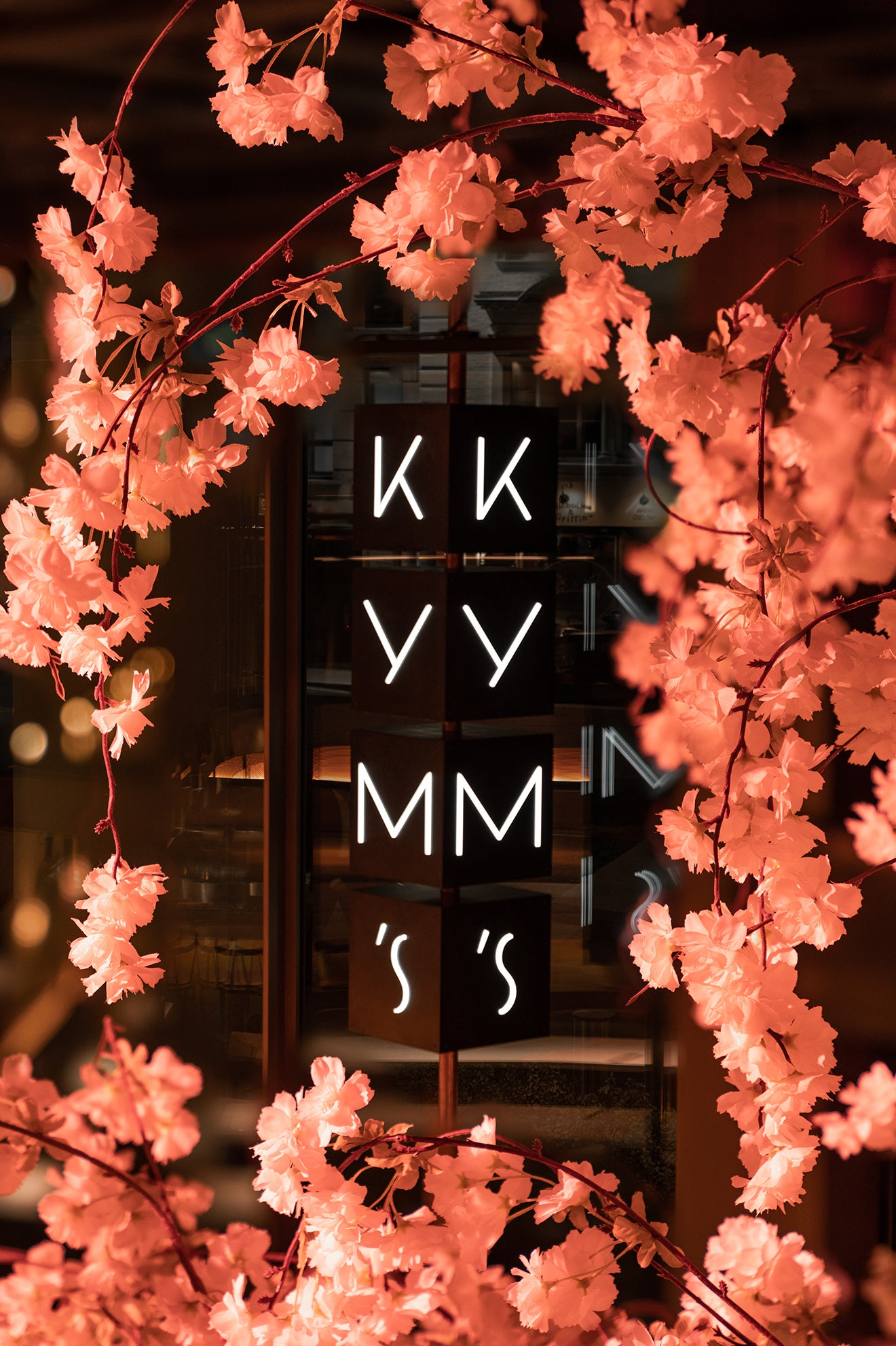 Kym's restaurant in London, designed by Michaelis Boyd Design for Andrew Wong