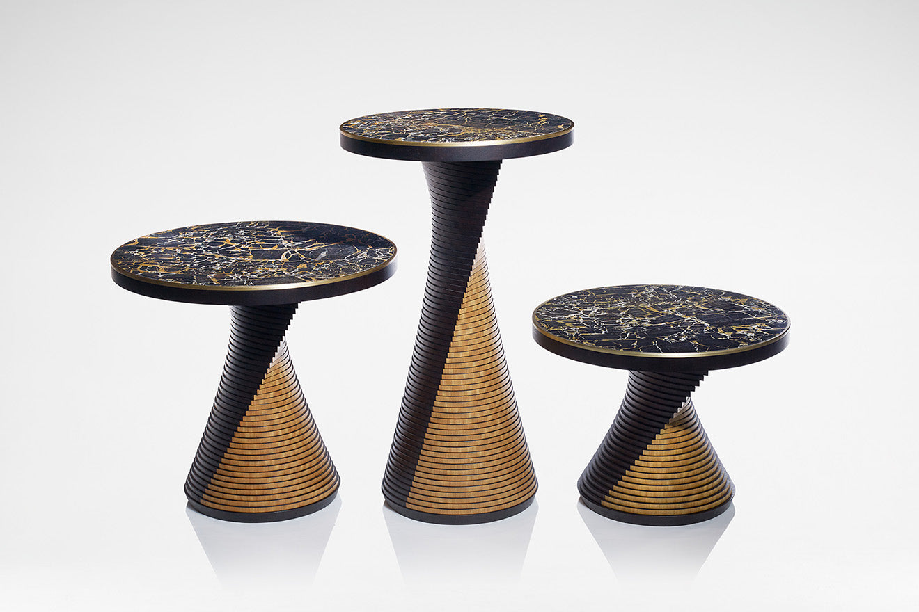 LINLEY Eclipse Side Tables at Masterpiece
