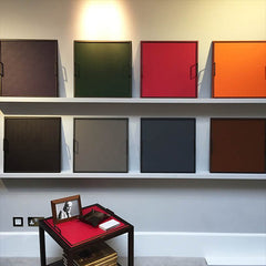 LINLEY colourful square slim Evolution trays