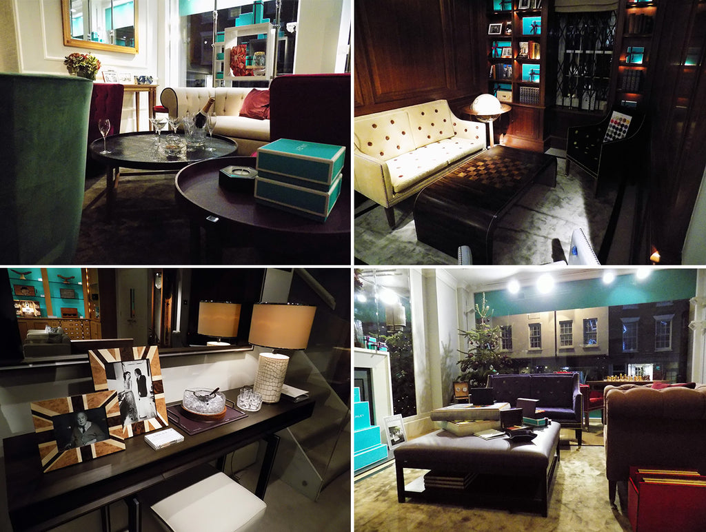 Luxury furniture London LINLEY flagship store Pimlico Road