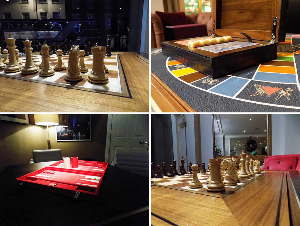 Luxury classic game sets from LINLEY