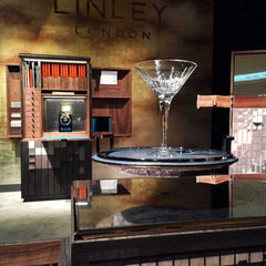 LINLEY Stand at the Masterpiece exhibition 2015 with their Lightscape collection