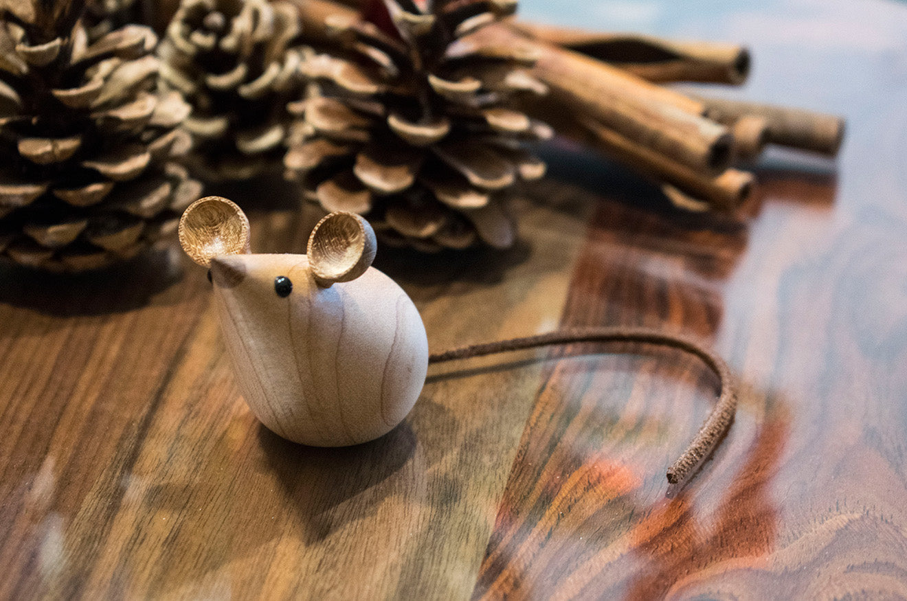 LINLEY Wooden Mouse