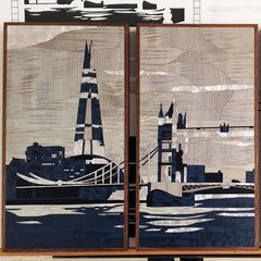 LINLEY London Skyline Triptych