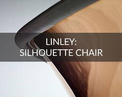 LINLEY Silhouette Chair with copper back