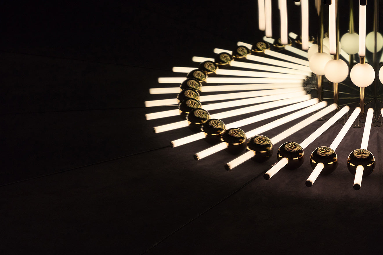 Lee Broom Kaleidoscopia installation for London Design Festival