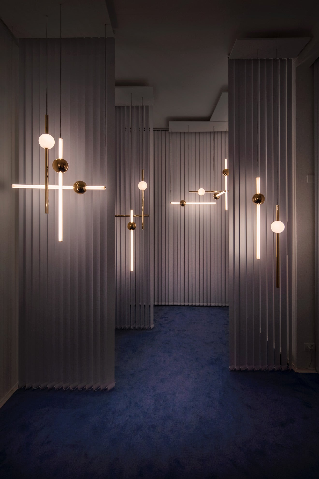 Lee Broom Orion Pendent Lights Observatory Salone del Mobile 2018
