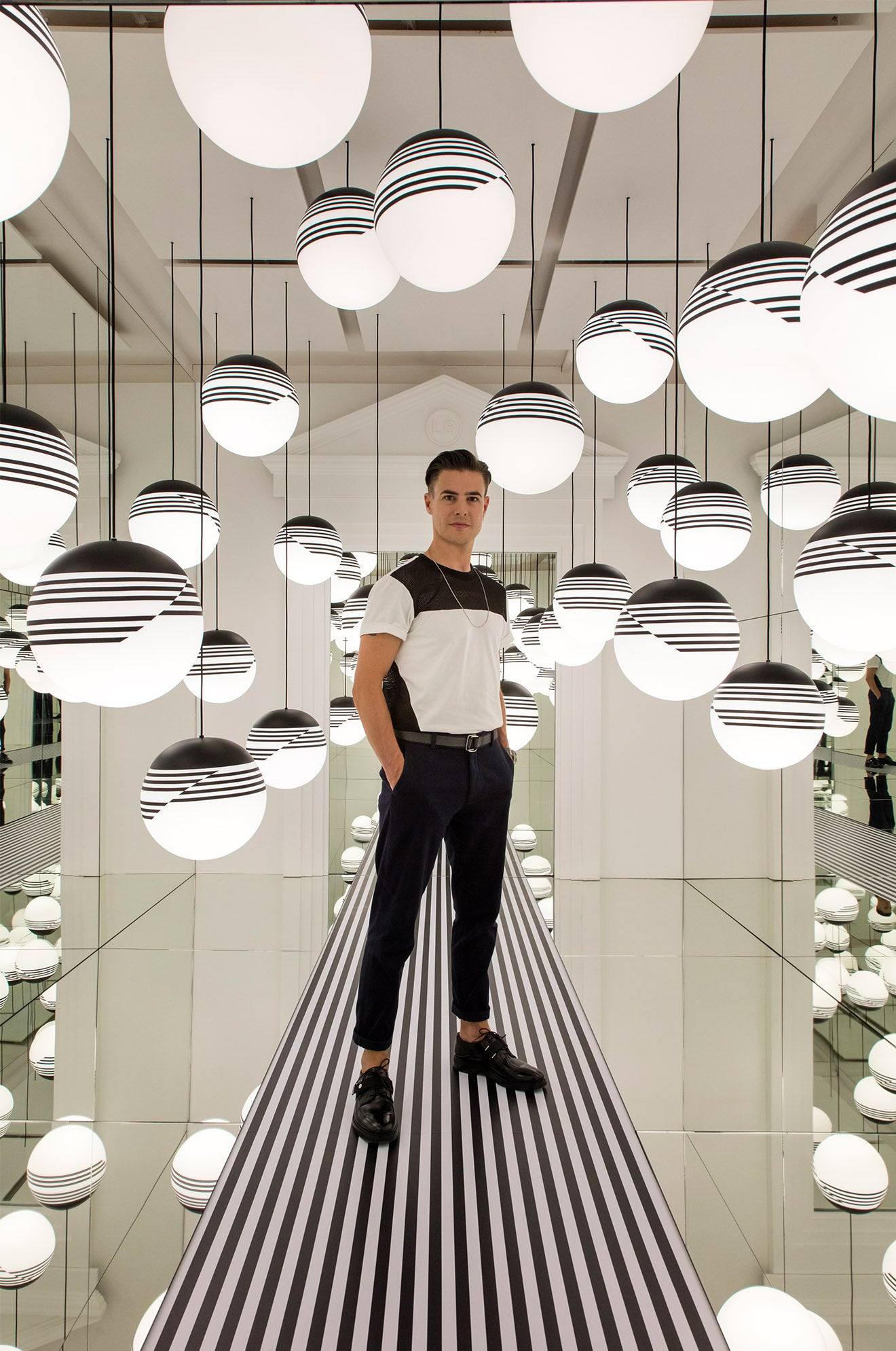 Lee Broom Opticality lighting designs