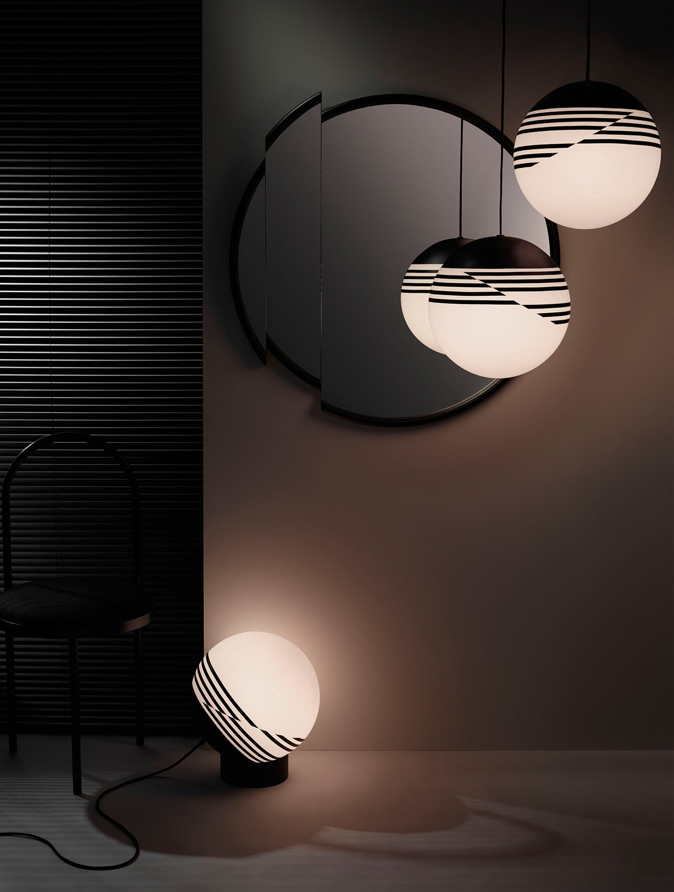 Lee Broom Optical collection of luxury lighting designs launched in Milan