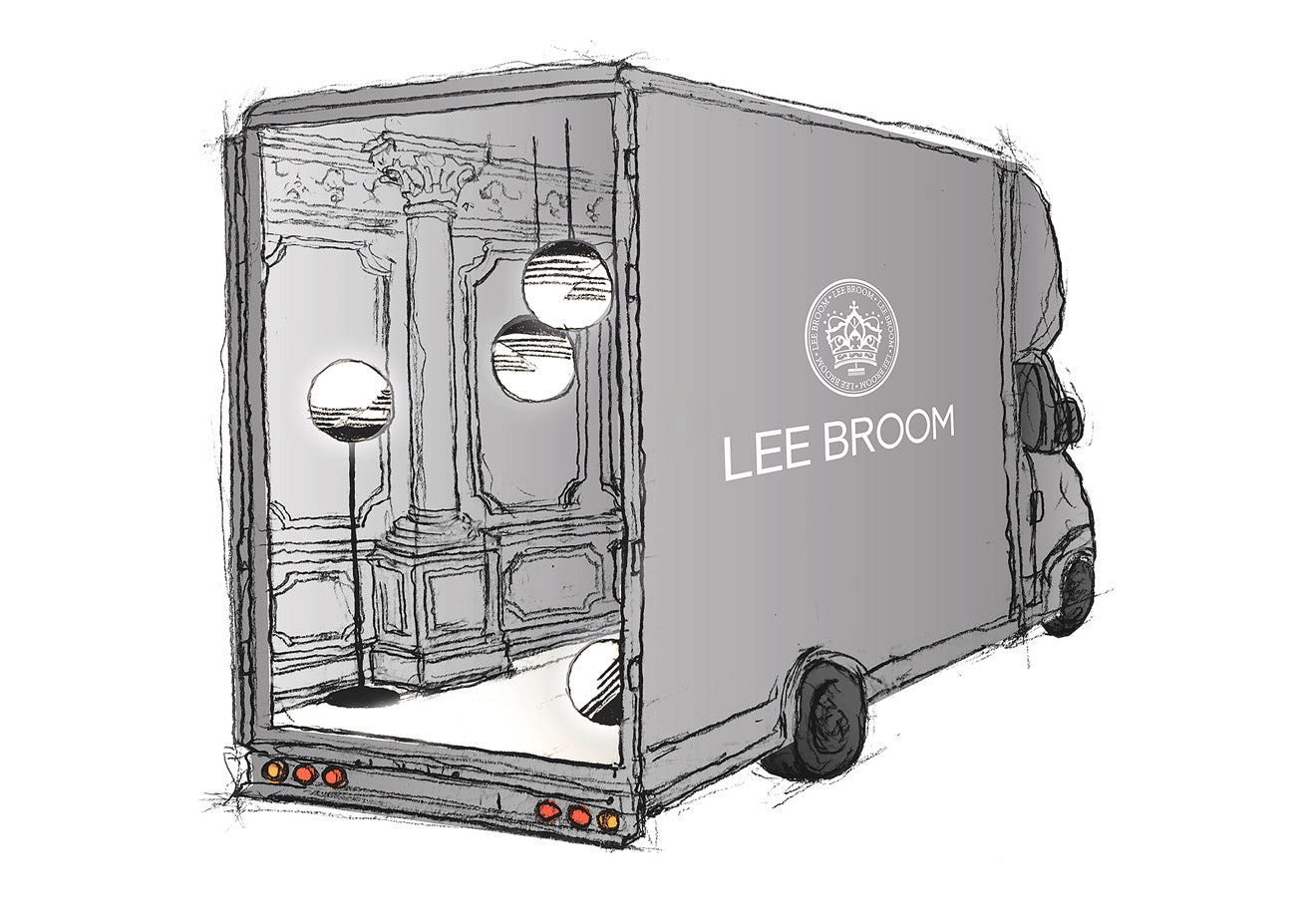 Lee Broom Lorry Optical collection Milan Launch