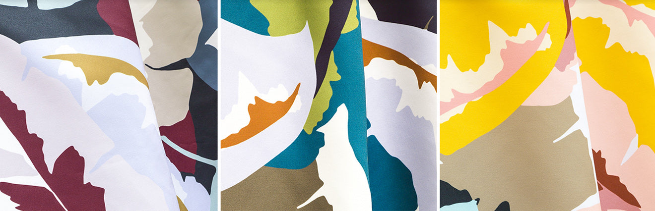 Palma Fabric Collection Colours from Lelievre Paris