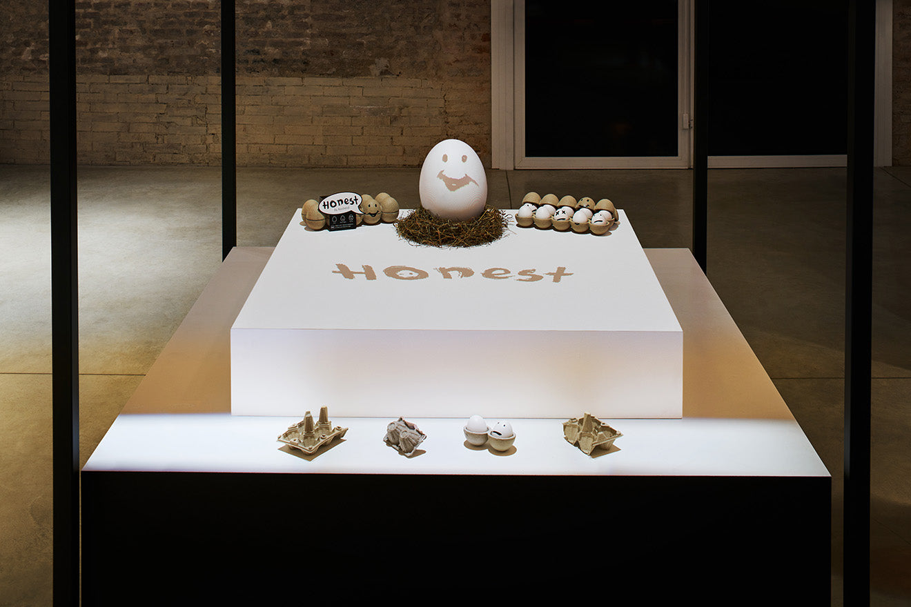 Lexus Design Award Finalists 2018 at Salone del Mobile Honest Egg