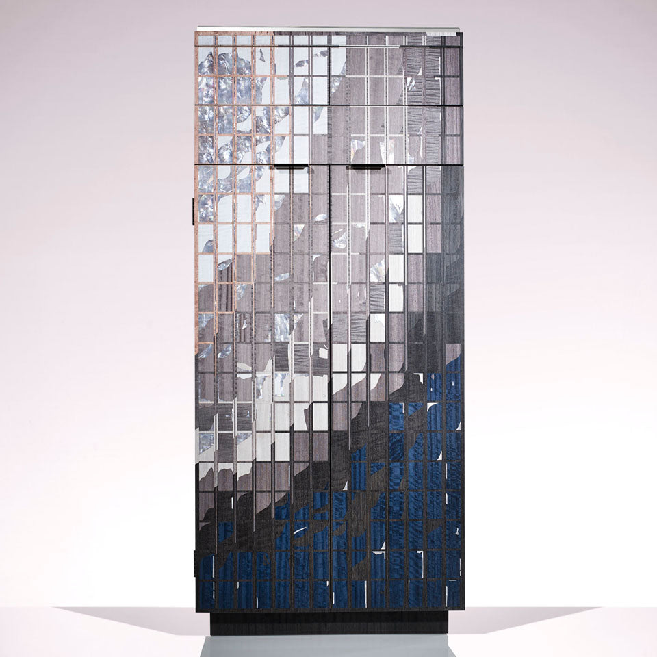 LINLEY Sunrise cabinet from the Lightscape collection