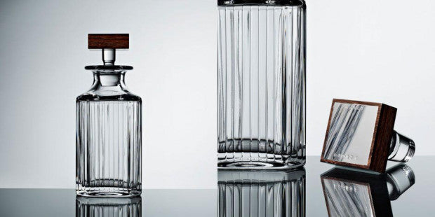 Crystal Trafalgar decanter from LINLEY