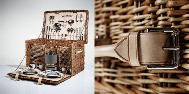 Luxury Wicker Picnic Basket from LINLEY