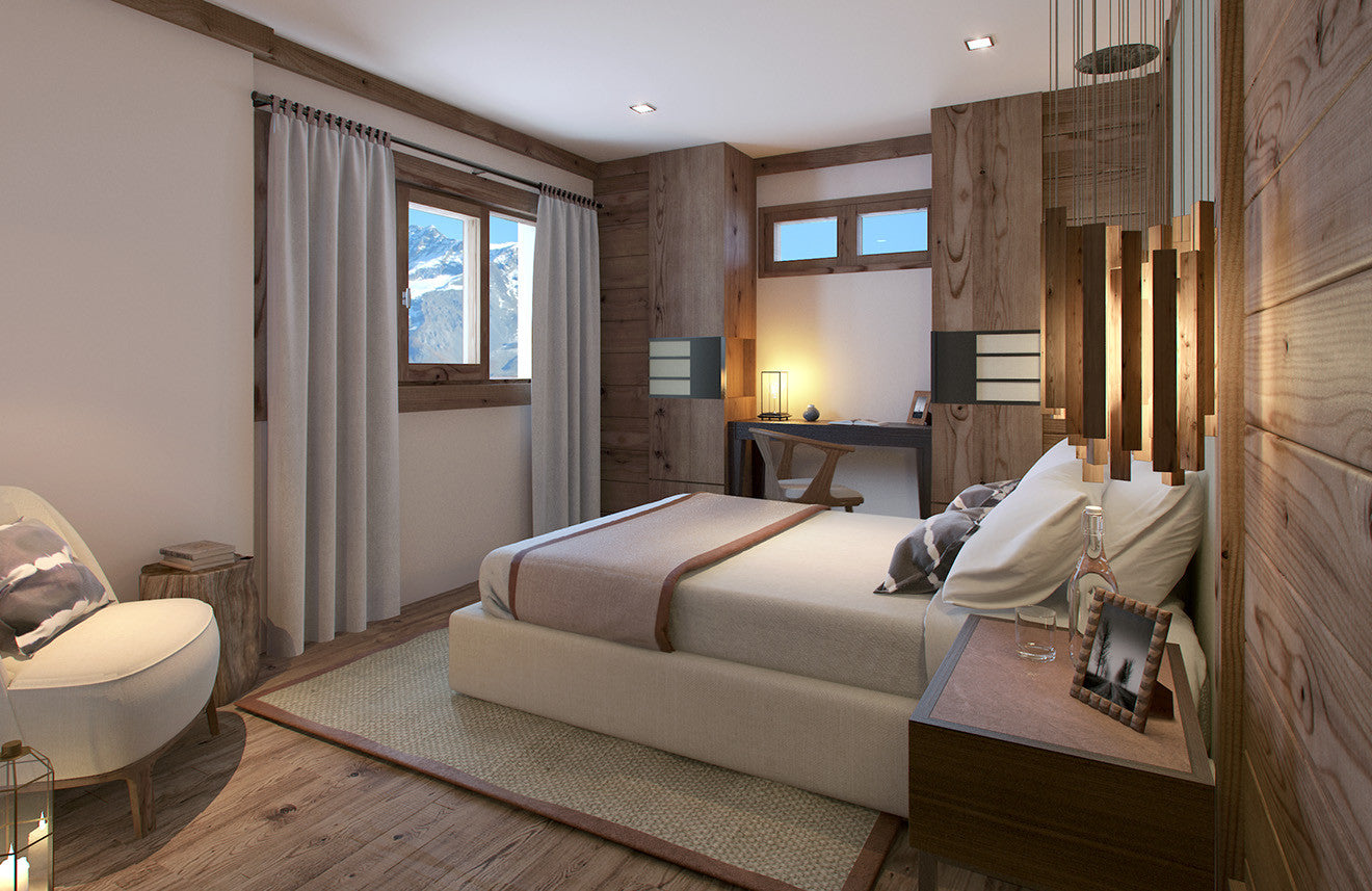 Luxury bedroom cabin residence at Six Senses Morpheus
