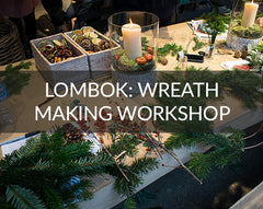 Lombok wreath making workshop