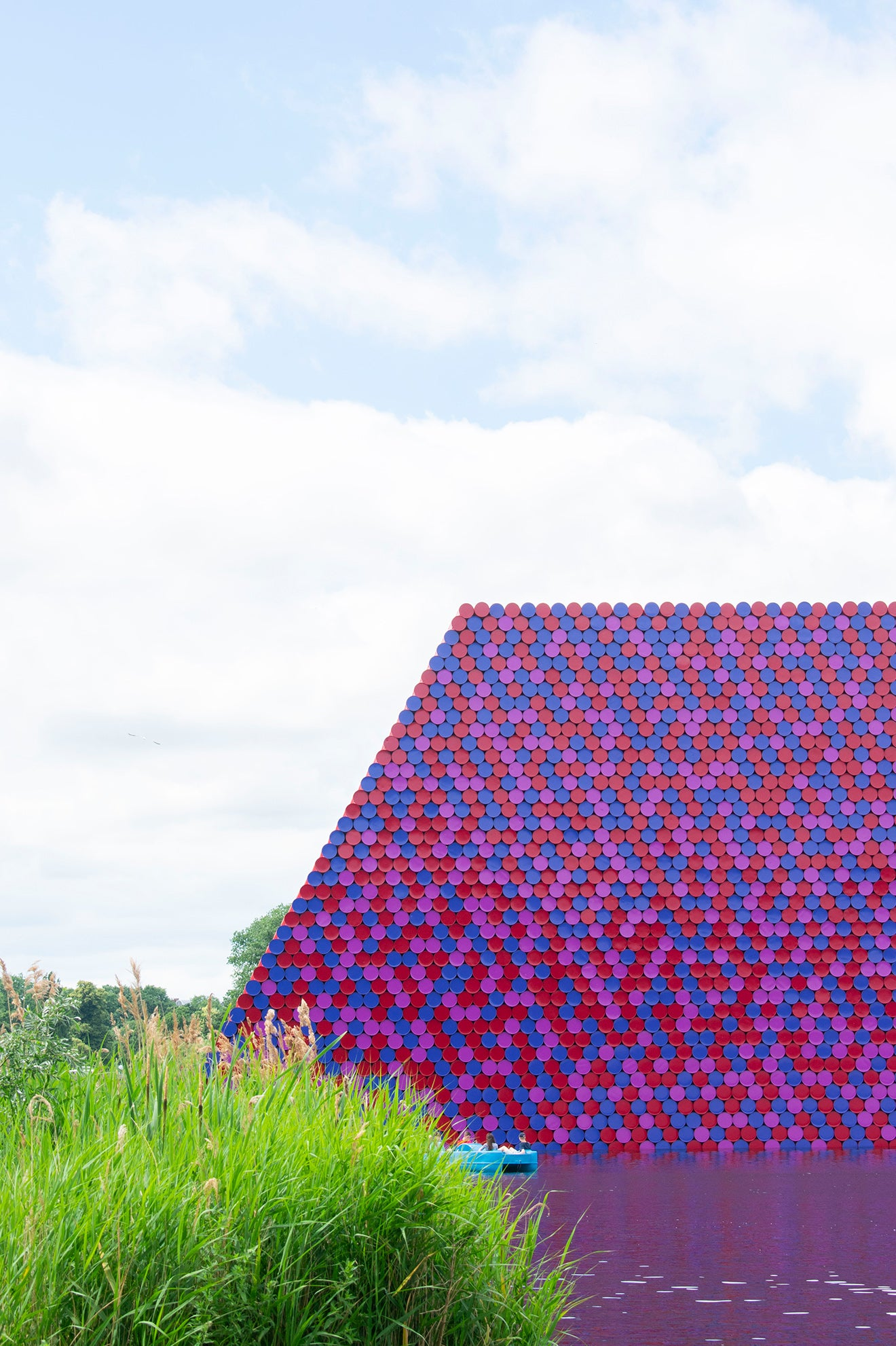 Christo London Mastaba Installation the Serpentine