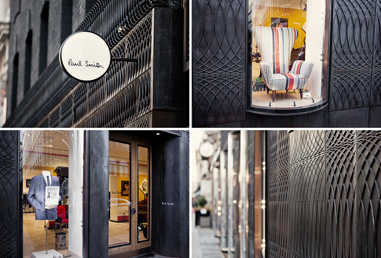 Paul Smith Logo And Store Sign In London 9 Albermarle Street