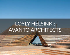 Loyly Helsinki public spa abstract architecture