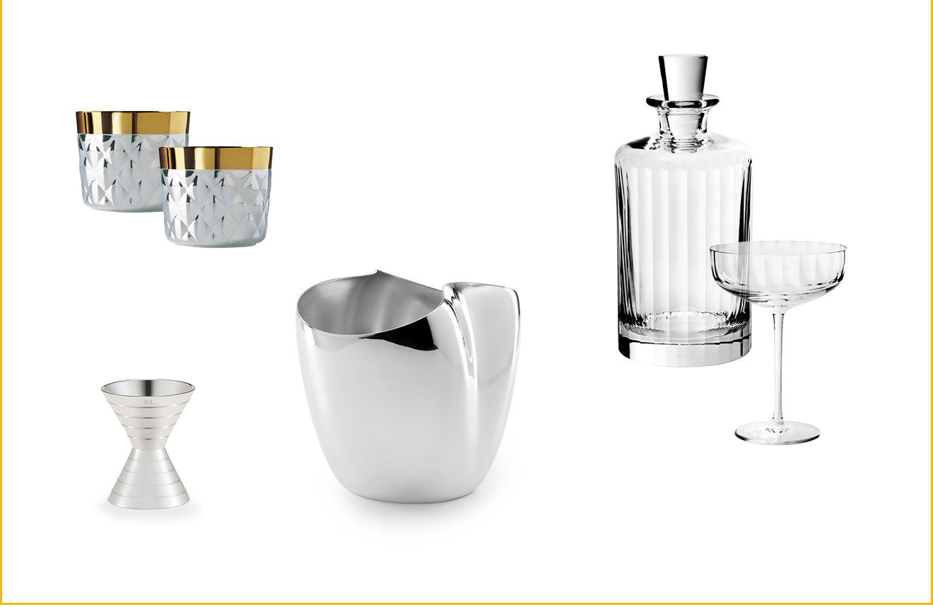 Luxury barware and entertaining gifts from Luxdeco