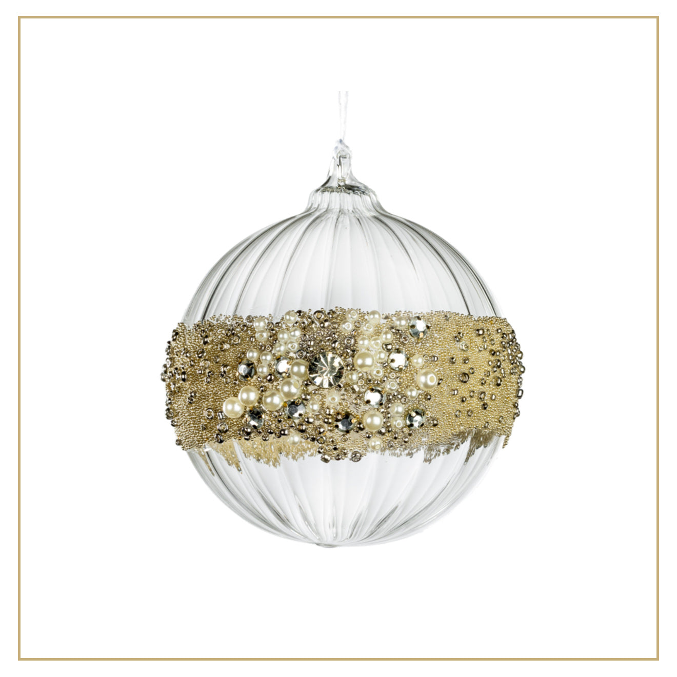 Luxdeco Christmas Ornament Tree Decoration