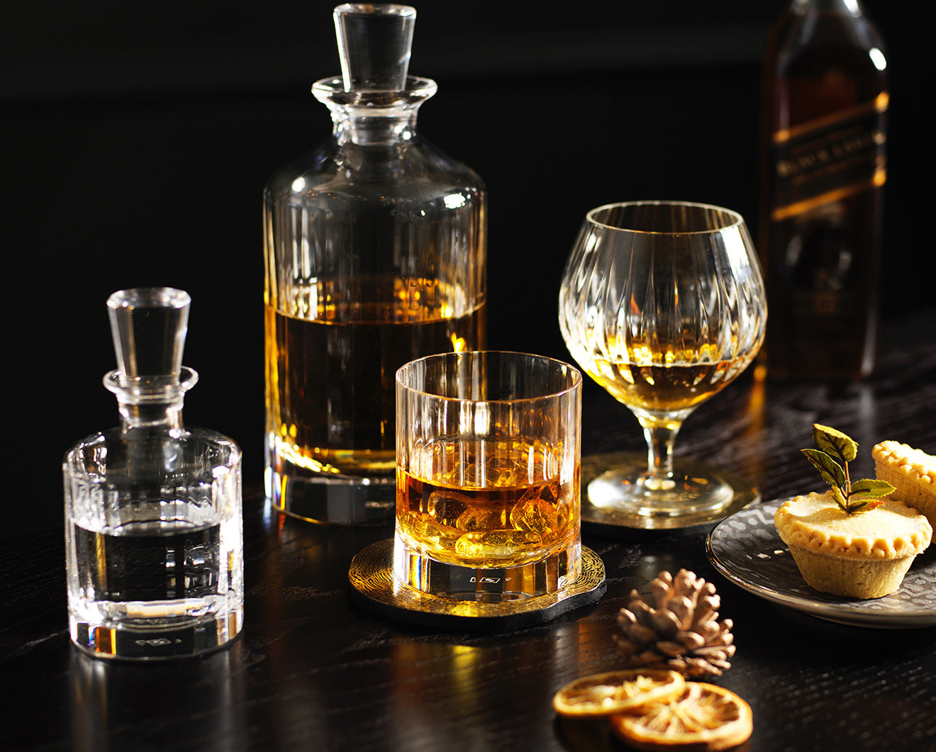 Luxury Crystal Barware and decanters from Luxdeco