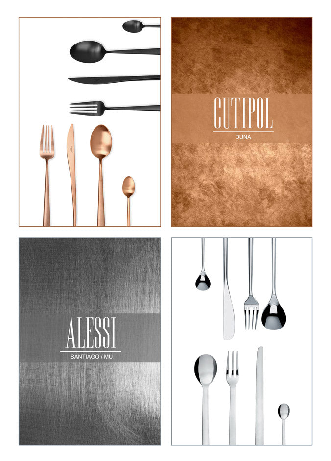 Luxury Cutlery Collections Cutipol and Alessi Designs