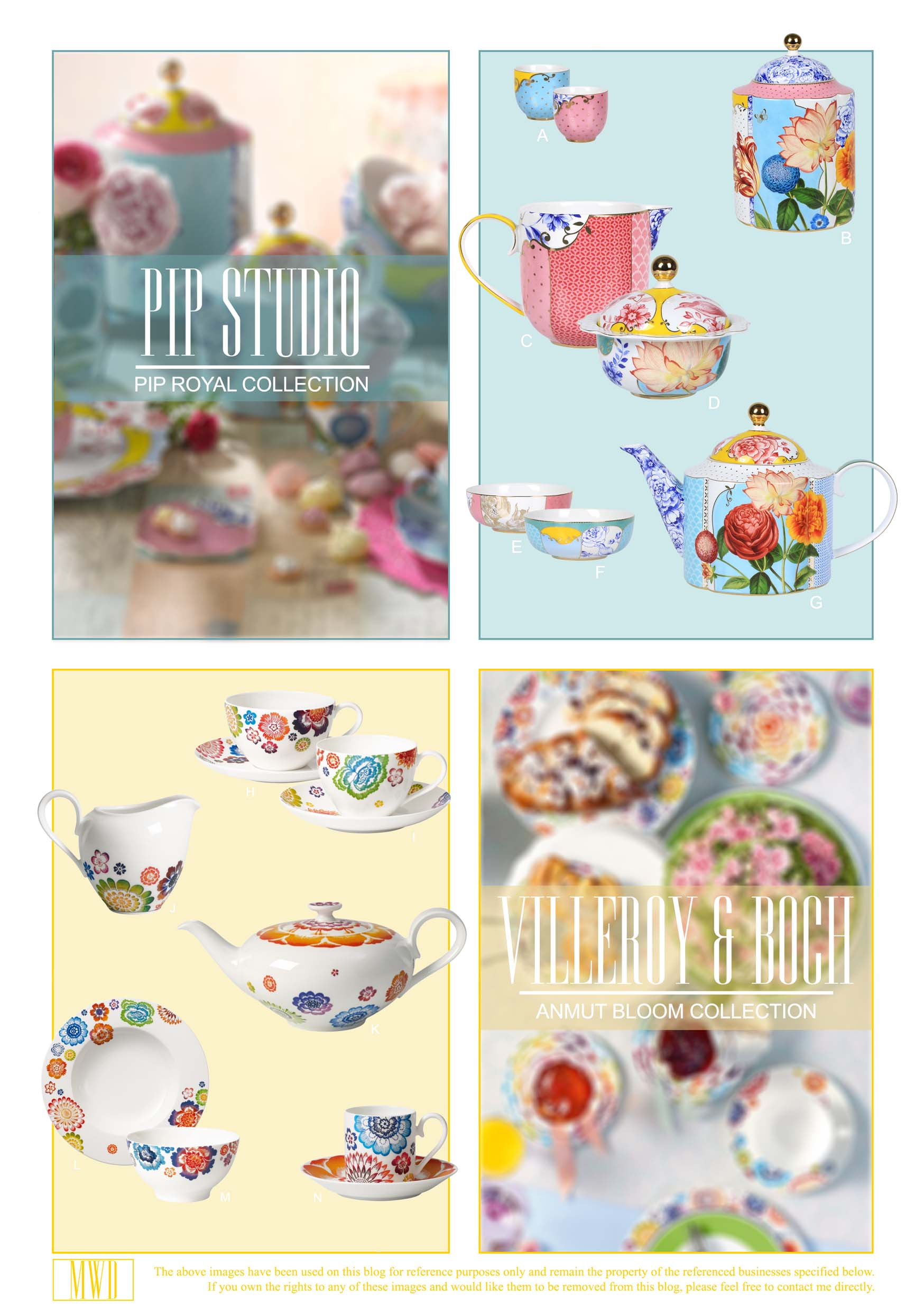 Pip Studio and Villeroy & Boch Teaware collections