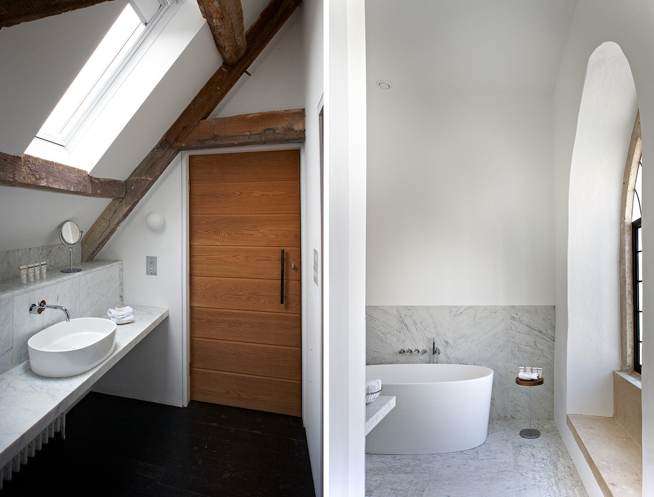 At The Chapel Hotel Somerset Luxury Bathroom Suites from Victoria + Albert