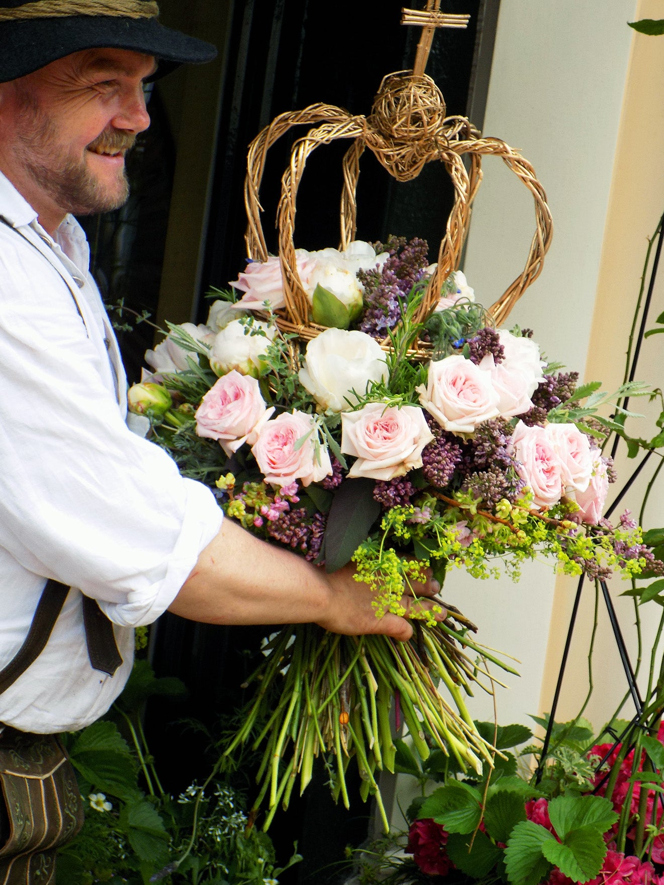 Creating a luxury floral display for London Craft Week