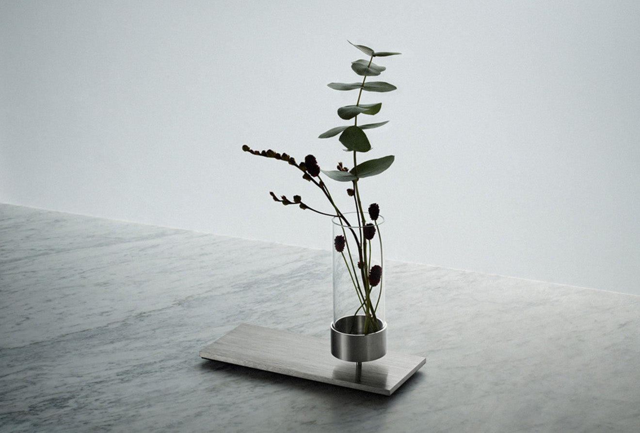 Machined collaboration with Buster + Punch to create a metal vase