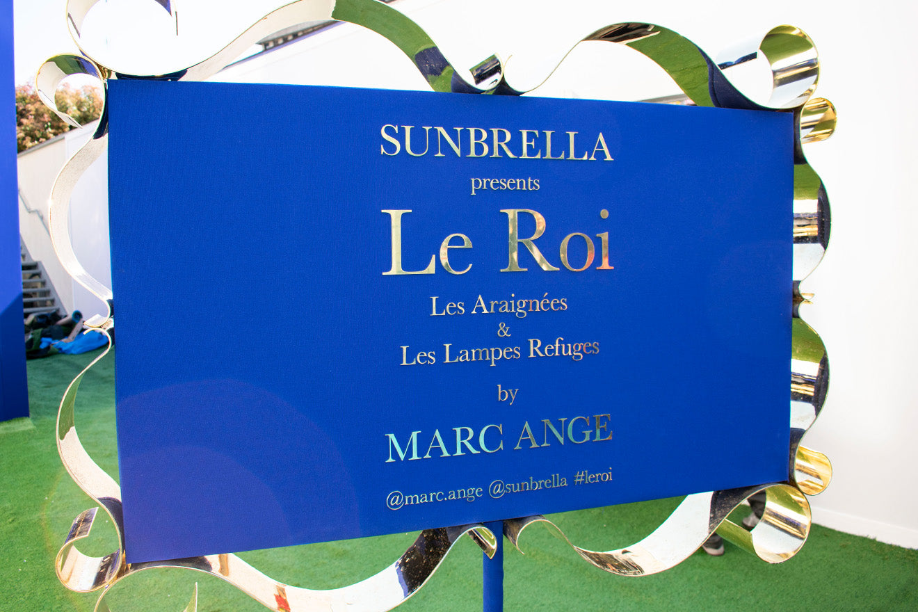Sunbrella presents Le Roi by Marc Ange Salone del Mobile