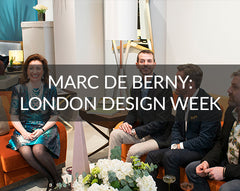 Marc de Berny London Design Week at Chelsea Design Centre