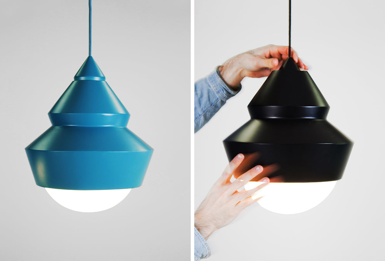 Solstice adjustable ceiling pendant from Markus Johansson
