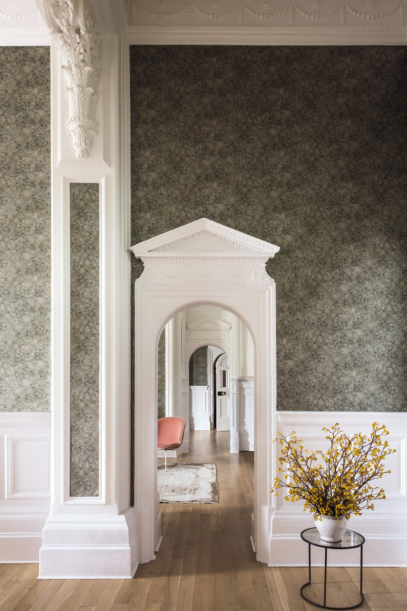 Martyn Lawrence Bullard Patina Haze Wallpaper Cole & Son