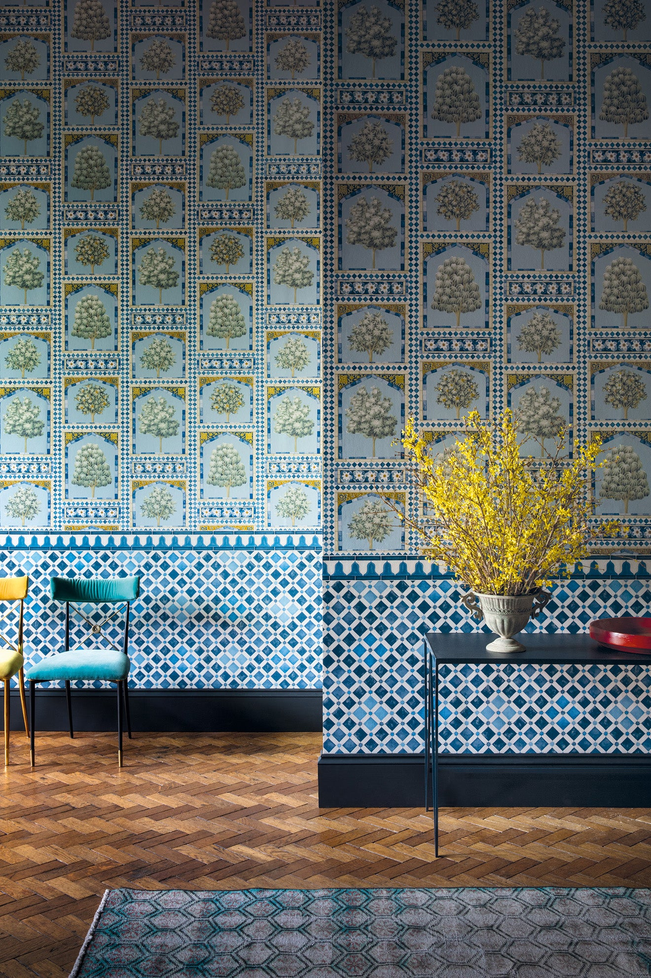 Martyn Lawrence Bullars Sultan's Palace & Zellige wallpaper collection