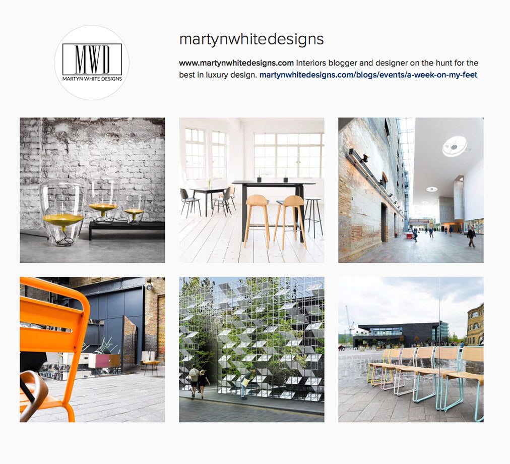 Martyn White Designs Instagram takeover