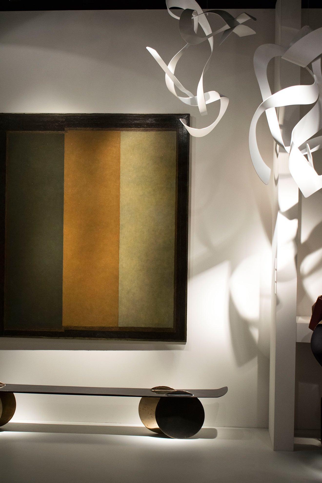 Abstract art gallery on display at Masterpiece 2017