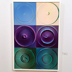 Modern circular and square art