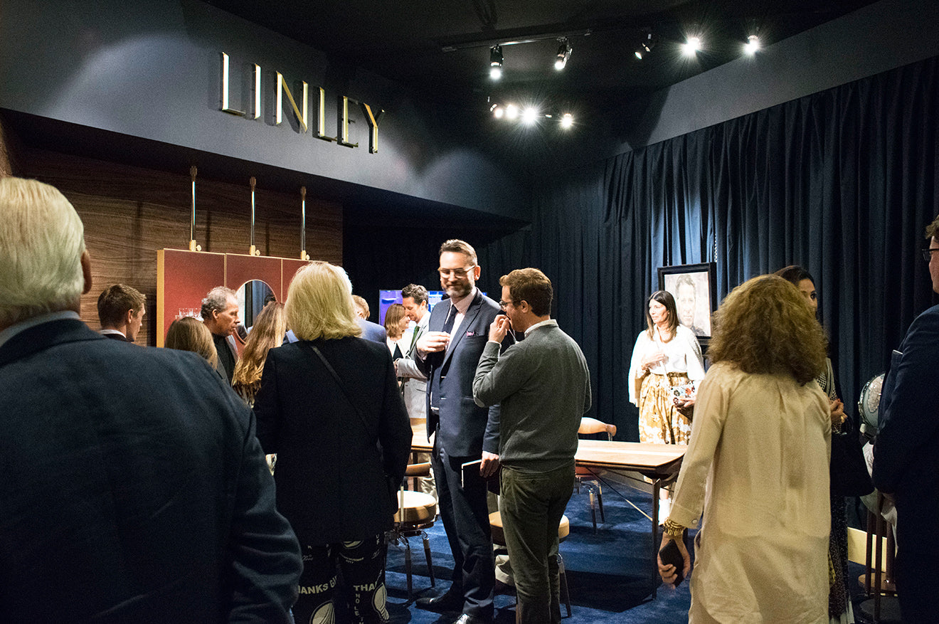 LINLEY London Masterpiece stand 2017