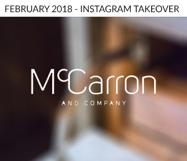 McCarron & Co Instagram takeover